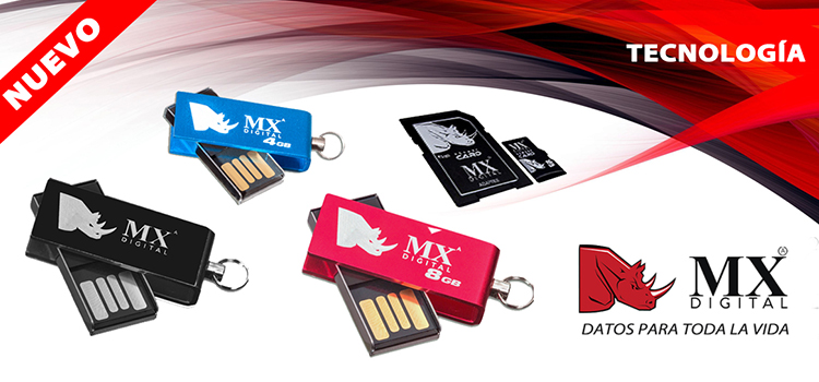 mx digital, mx, tecnologia, pen drives, memorias